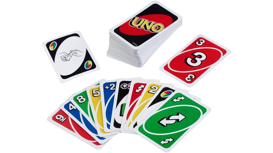 Mattel Games W2087 UNO Kartenspiel