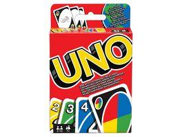 Mattel Games UNO Kartenspiel Gesellschaftsspiel Familienspiel Kinderspiel