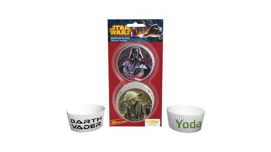 Dekoback Muffinfoermchen Star Wars 50 Stueck