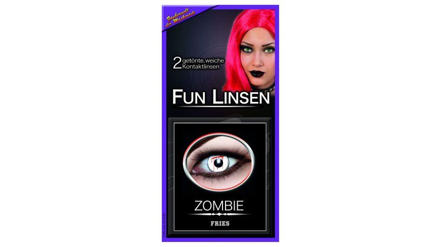 Fries 31497 Kontaktlinsen Zombie