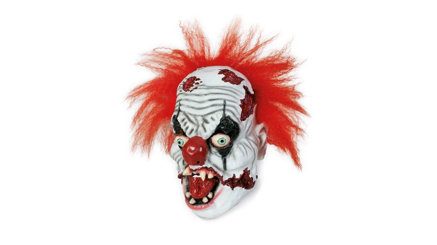 Fries Maske Horror Clown