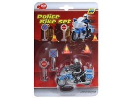 Dickie Blister Police Bike Set