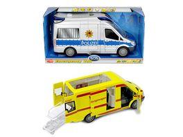 Dickie Emergency Van sortiert
