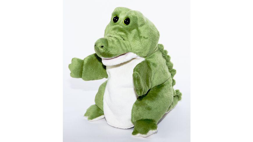 Bauer Handpuppe Krokodil