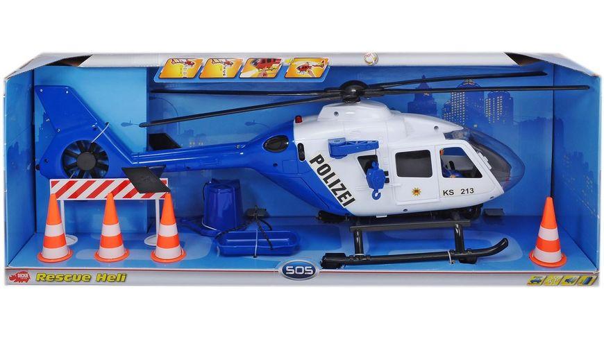 Dickie Polizei Hubschrauber
