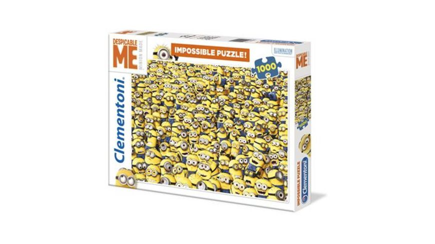 Clementoni High Quality 1000 Teile Puzzle Minions Impossible Puzzle