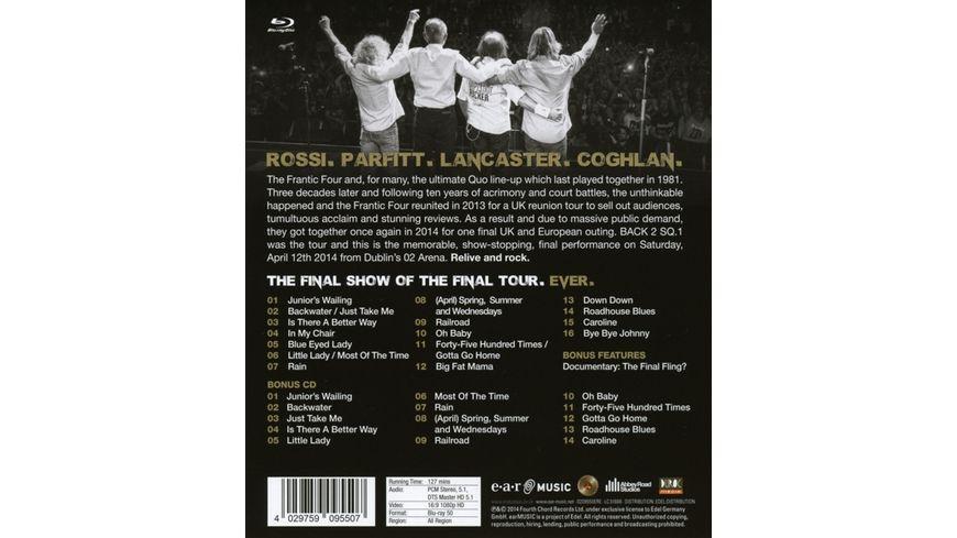 Frantic Four s Final Fling Live In Dublin