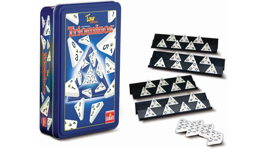Goliath Toys Triominos Tour Edition