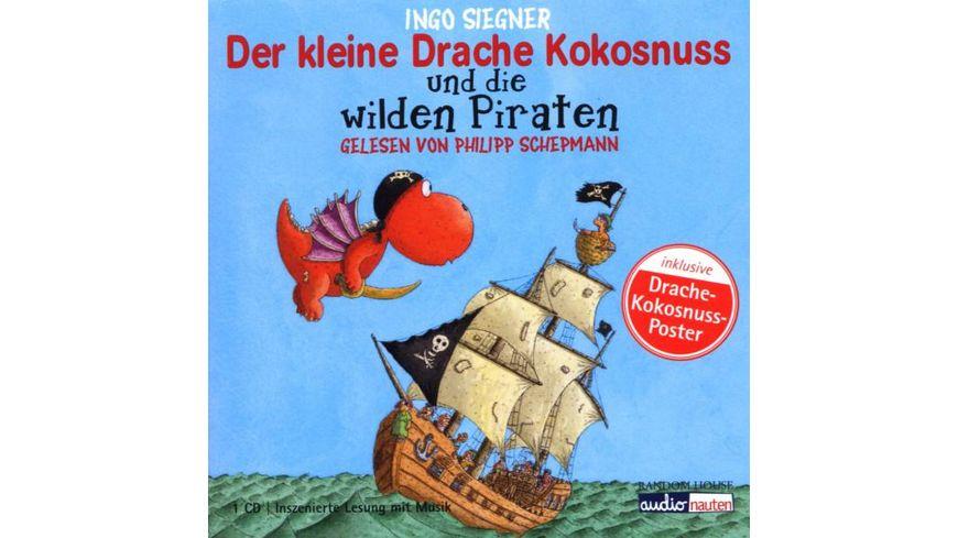 Der kleine Drache Kokosnuss u d wilden Piraten