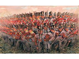 Italeri 6095 Figuren 1 72 Napol Kriege Brit Infanterie 1815