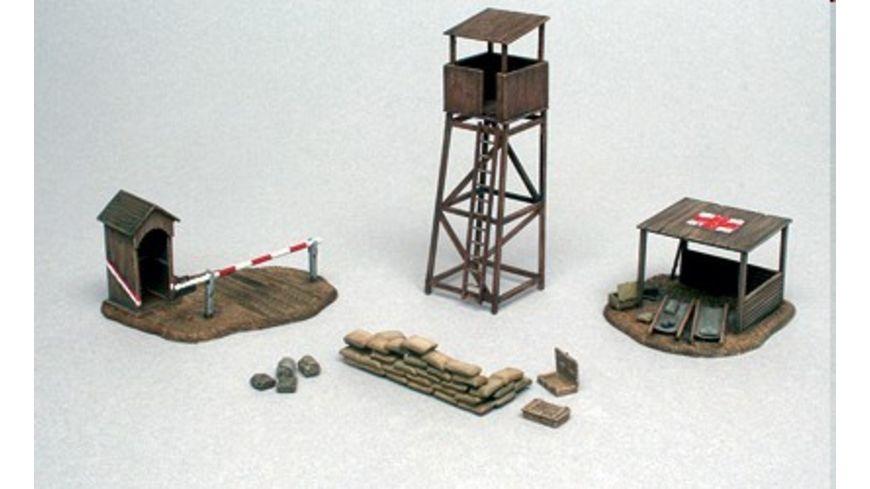 Italeri 6130 Diorama 1 72 Schlachtfeld Gebaeude