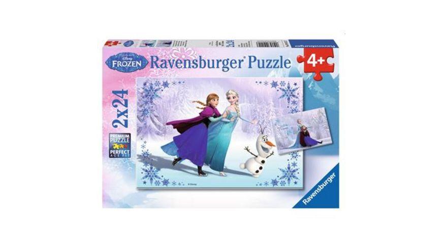 Ravensburger Puzzle Schwestern fuer immer 2x24 Teile