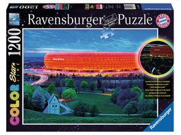 Ravensburger Puzzle Color Star Line Puzzle Allianz Arena 1232 Teile