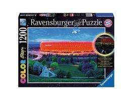 Ravensburger Puzzle Color Star Line Puzzle Allianz Arena 1232 Teile