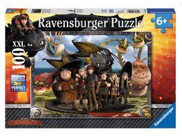 Ravensburger Puzzle Ohnezahn und seine Freunde 100 XXL Teile