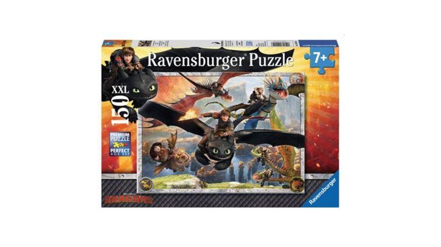 Ravensburger Puzzle Drachenzaehmen leicht gemacht 150 XXL Teile