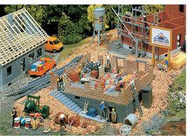 Faller 130307 H0 Programm Die Stadt das Dorf Haus im Bau