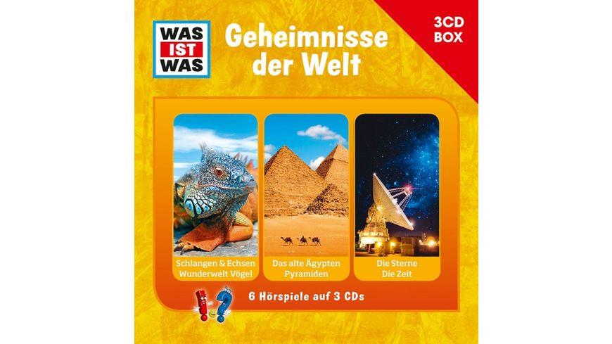 WAS IST WAS 3 CD Hoerspielbox Vol 3 Geheimnisse