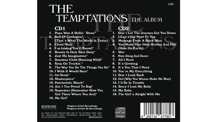 The Temptations The Album