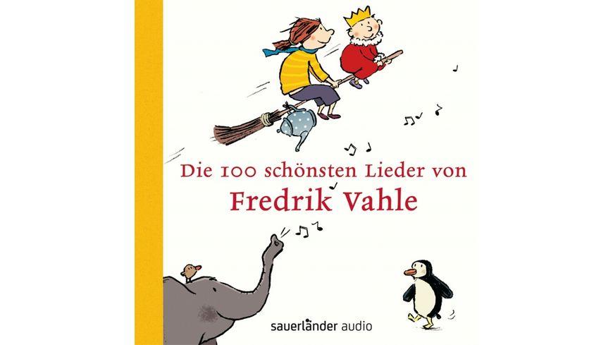 Die 100 Schoensten Lieder Von Fredrik Vahle