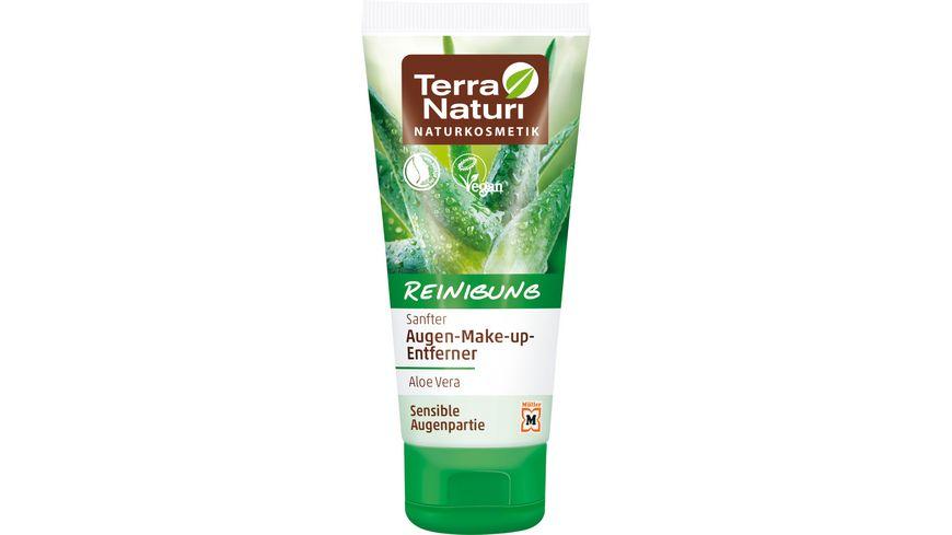 Terra Naturi Reinigung sanfter Augen Make Up Entferner Aloe Vera