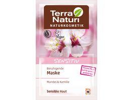 Terra Naturi Sensitiv beruhigende Maske Mandel Kamille