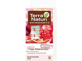 Terra Naturi Regeneration straffende 7 Tage Ampullenkur Granatapfel Arganextrakt
