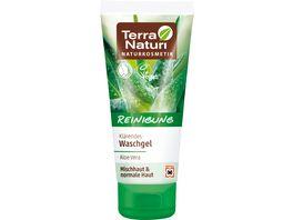 Terra Naturi Reinigung klaerendes Waschgel Aloe Vera