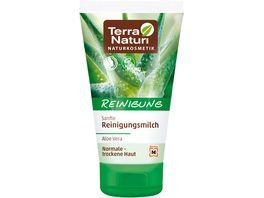 Terra Naturi Reinigung sanfte Reinigungsmilch Aloe Vera