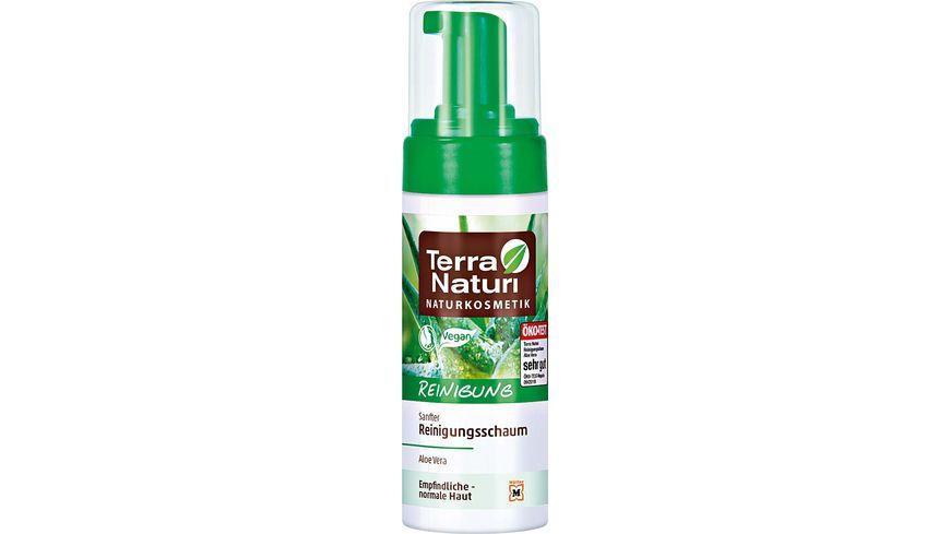 Terra Naturi Reinigung sanfter Reinigungsschaum Aloe Vera