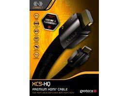 Gioteck XC5 HDMI Flachkabel 3m fuer Xbox One Xbox 360 PS3 und PS4