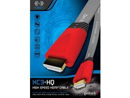 Gioteck HDMI Flachkabel 1 8m fuer Playstation und Xbox