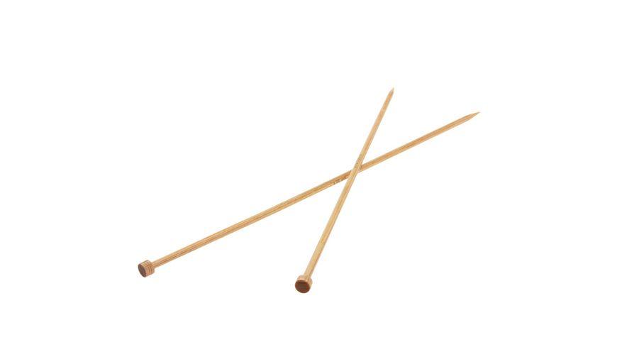 Lana Grossa Jackenstricknadel Holz 35 cm Staerke 6