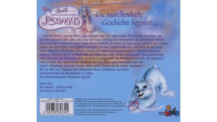 Barbie Und Der Geheimnisvolle Pegasus HSP z Film
