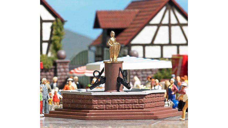 BUSCH 7728 H0 - Mini-Welt: Marktbrunnen