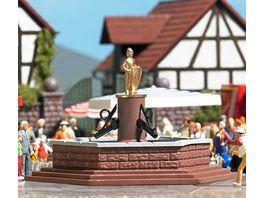 Busch 7728 Modellbahnzubehoer Mini Welt Marktbrunnen
