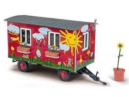 BUSCH 59933 Anhaenger Gartenwagen 1 87