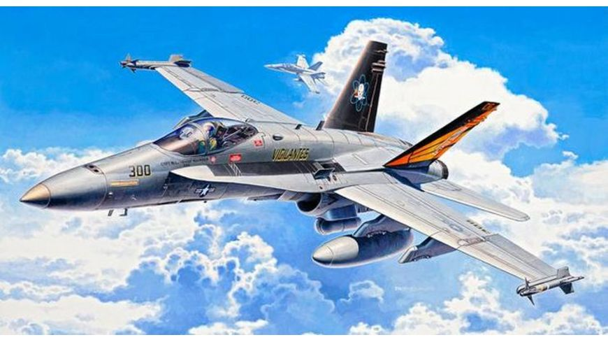 Revell 04894 Modellbau Flugzeuge F A 18C Hornet