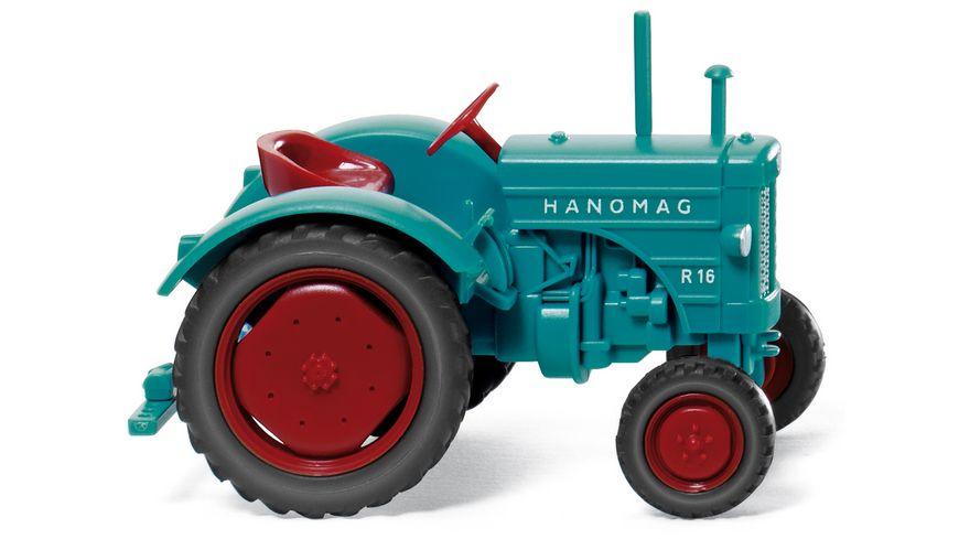 WIKING 088505 Hanomag R 16 wasserblau