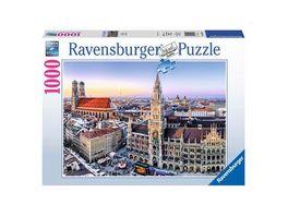 Ravensburger Puzzle Muenchen 1000 Teile