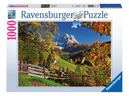 Ravensburger Puzzle Monte Pelmo Venetien Italien 1000 Teile