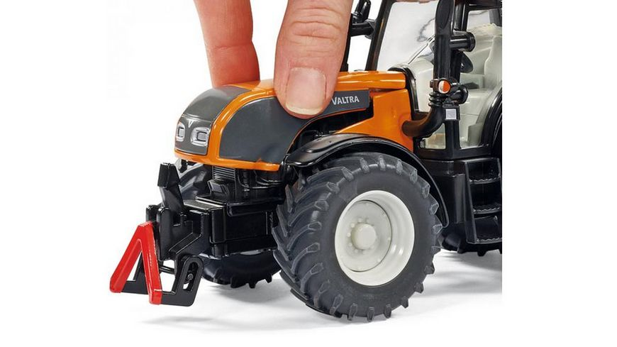SIKU 3659 Farmer Traktor mit Kuhn Boeschungsmaehwerk