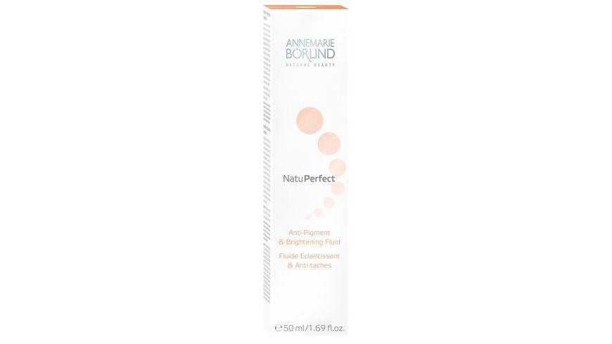 ANNEMARIE BOeRLIND NatuPerfect Anti Pigment Brightening Fluid