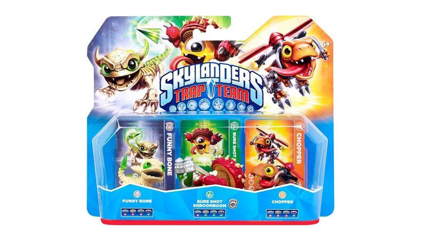 Skylanders Trap Team Dreierpack 1