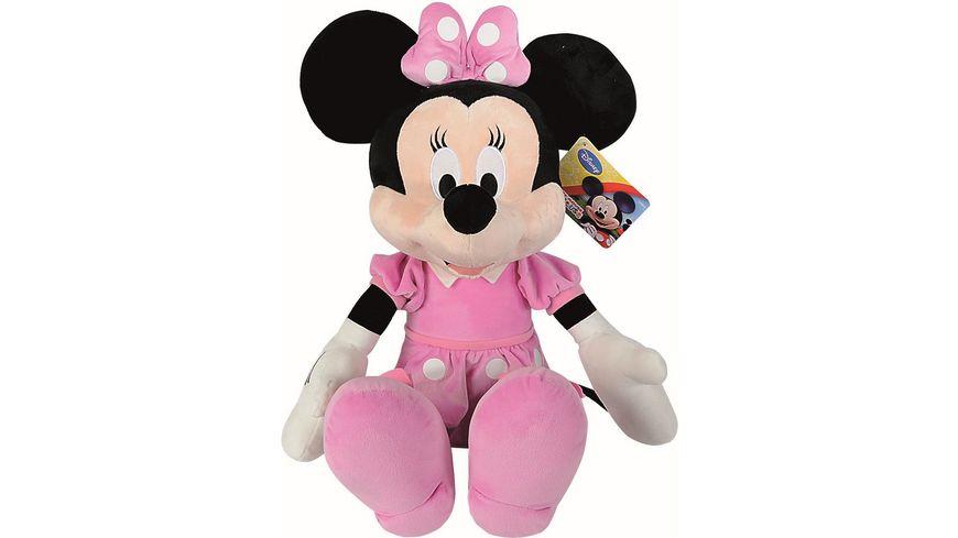 Simba - Disney Micky Mouse Clubhouse - Basic Minnie, 61 cm