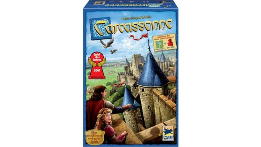 Hans im Glueck Strategiespiele Carcassonne Edition II