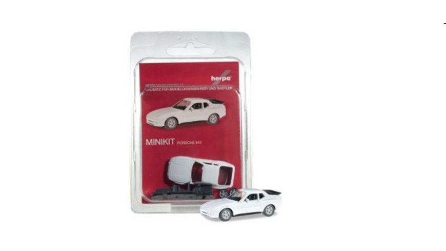 Herpa 012768 Minikit Porsche 944 reinweiss