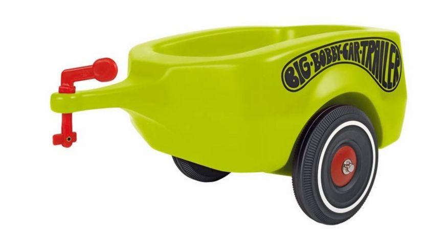 BIG BIG Bobby Car Trailer Gruen
