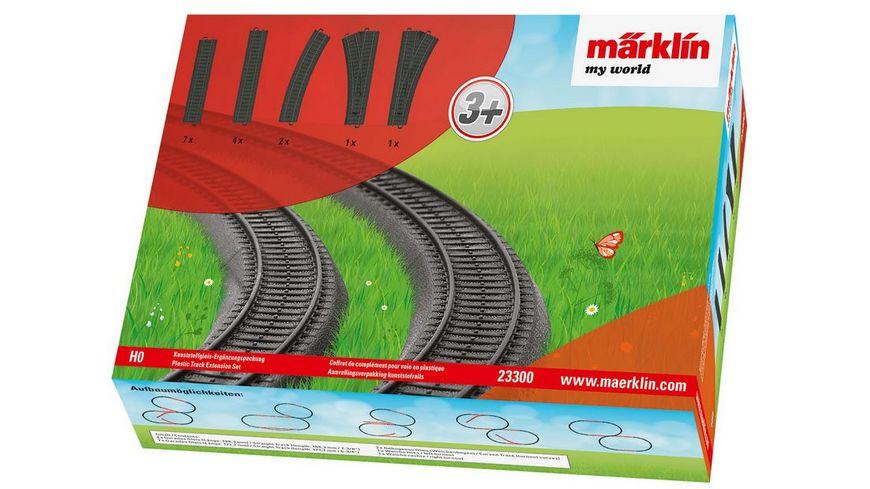 Maerklin 23300 my world Kunststoffgleis Ergaenzungspackung