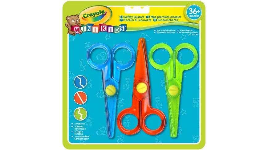 Crayola - Mini Kids - 3 Kinder-Scheren
